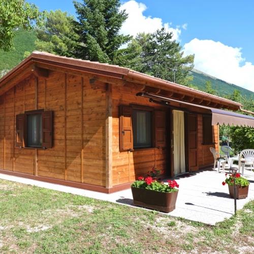 Piccolo rifugio 42 mq in legno