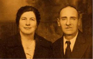 Enrico Paolini e sua moglie