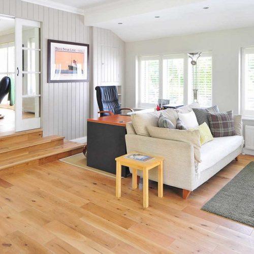 Esempio pavimento in legno  appartamento