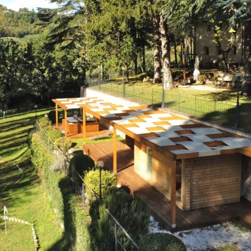 Sauna e idromassaggio